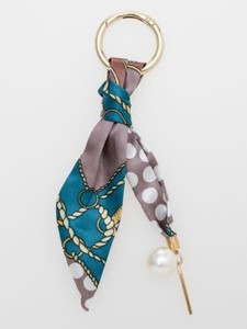 Design Scarf Bag Charm Key Ring