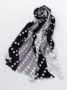 Design Dot Geometric Patterns Stole