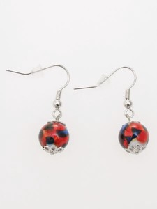 Design Color Pierced Earring