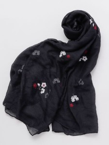 Design Floret Embroidery Stole