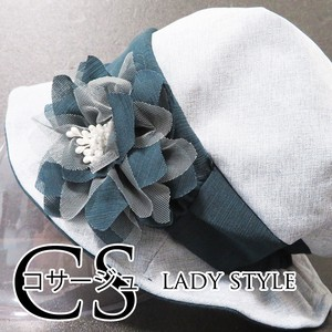 [ 2020NewItem ] S/S Washing Lady Hats & Cap Lace Corsage Down Hat