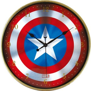 Next Time Marvel Index Wall Clock