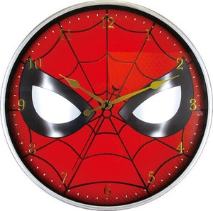 Marvel Index Wall Clock Spider