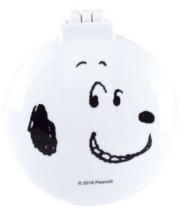 Snoopy Round shape Mirror Brush Face