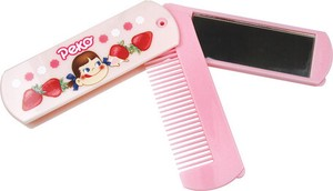 """Peko"" Mirror Comb Strawberry Pink"