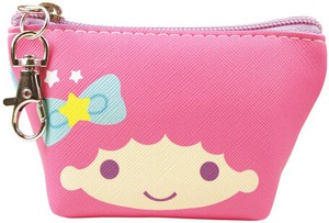Sanrio Triangle Mini Pouch Little Twin Star Face