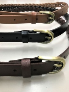 """2020 New Item"" Genuine Leather Braided Belt"