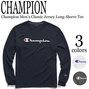 《即納》CHAMPION《2020年春夏》 ■L/S TEE■Champion Men's Classic Jersey Long-Sleeve Tee