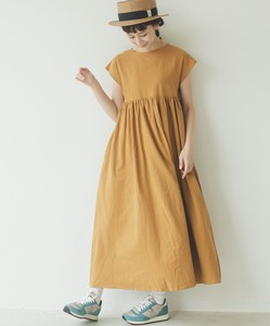 Linen Cotton French One-piece Dress