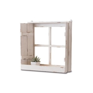 Poth Living Display Window White