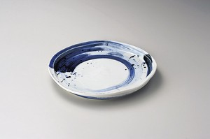 Brush Painting Deformation Plate Porcelain