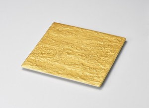 Gold Square Plate Porcelain