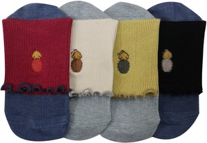 Crew Socks LION Embroidery