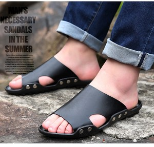 Sandal Casual Sandal Sandal Slipper Black