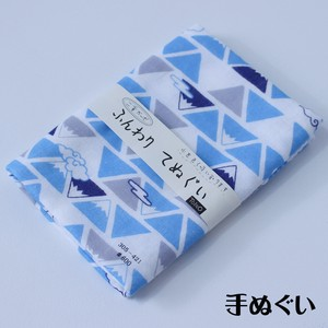 Hand Towel Double Gauze Hand Towel Triangle Mt. Fuji Fortune Japanese Craft