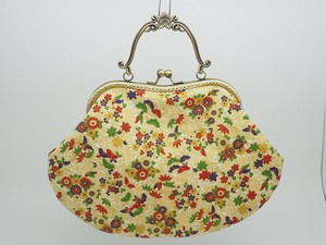 Feeling Coin Purse Bag Base Japanese Pattern