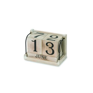 Poth Living Antique Cube Calendar