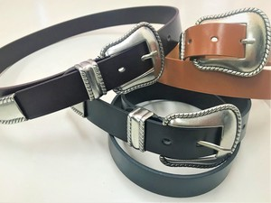 S/S Synthetic Leather Belt 8mm