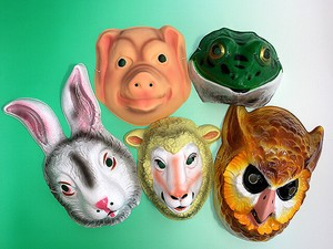 Animal Mask pig Rabbit Sheep Owl