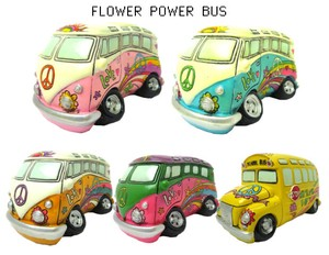 FLOWER Flower Power Bank Piggy Bank