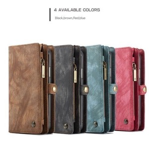 Smartphone Case Wallet Genuine Leather Removal Magnetism iPhone