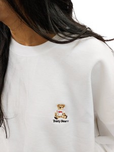 [ 2020NewItem ] Teddy Bear Embroidery Sweatshirt