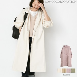[ 2020NewItem ] SOFT Twill Food Long Coat