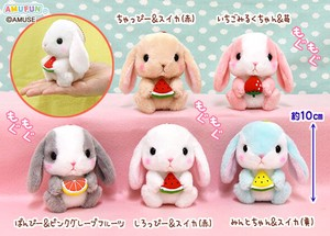 """Poteusa Loppy"" Rabbit Soft Toy Nom Nom Fruit Size LMC"