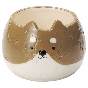 Shiba Dog Pot ANIMAL