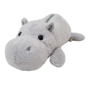Wild Animal Pencil Case / Hippo