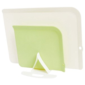 Storage Antibacterial Chopping Board Set Ivory Green