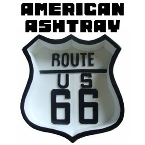 AMERICAN ASHTRAY ROUTE66 【灰皿 アメリカン ルート66】