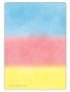 Marble Color Stationery plastic sheet Soda Float
