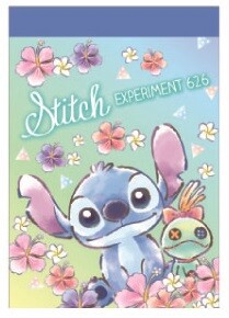 Disney Mini Memo Pad Stitch