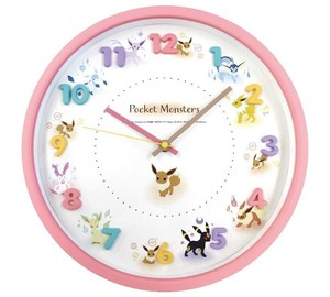 Pokemon Icon Wall Clock Eevee Friends