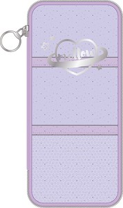 Tease Clear Pen Pouch Purple
