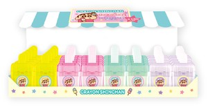 "Tease ""Crayon Shin-chan"" Ice Candy Eraser Tools/Furniture Set"