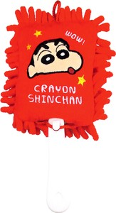 """Crayon Shin-chan"" Handy Mop Red"