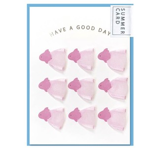 Goldfish Ribbon Card