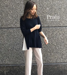 Pleats Flare Knitted