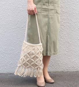 Merry Macrame Shoulder Bag Natural Material