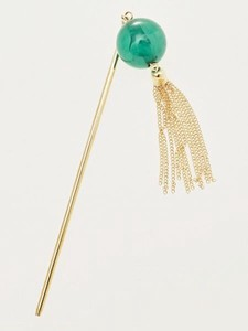 Design Kanzashi Metal Tassel Stick