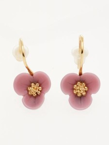 Design Pansy Pierced Earring