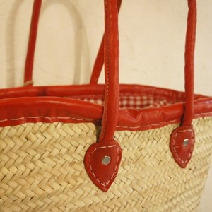 "Gingham Basket Red ""2020 New Item"""