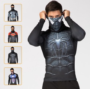 Print Spider Objects and Ornaments Ornament Costume Comic Super Top