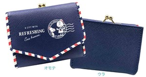[Marimo Craft] Compact Wallet Marine Squirrel Snoopy