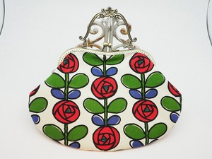Feeling Coin Purse Bag Base White Rose