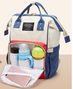 Large capacity Waterproof Mummy Bag Shoulder Backpack Fashion Diapers Bag Baby Bag