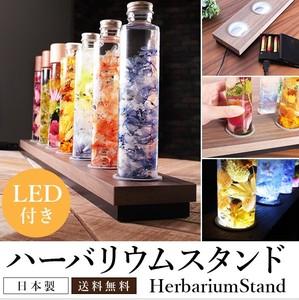 ハーバリウムスタンド ホールドタイプ LED70CM 化粧PB