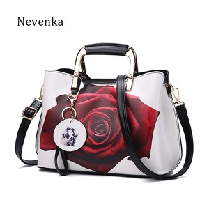 Brand Floral Pattern Messenger Bag Shoulder Bag Handbag